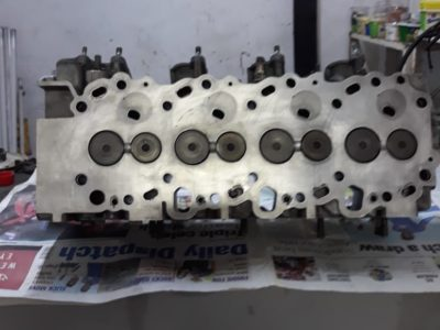 Cylinder head for Toyota 1kzte with camshaft