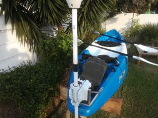 Double Kayak, with accessories for sale.