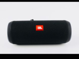 JBL Flip 3 Black Edition Portable Bluetooth Speaker