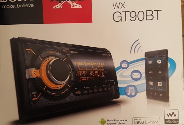 Sony XPlod WX-GT90BT Car Radio